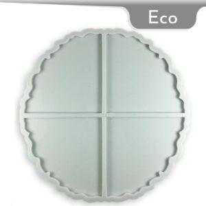 Coaster Geode Silicone Mold
