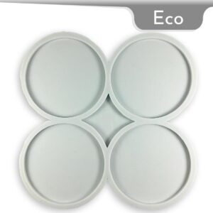 Coaster Round Silicone Mold