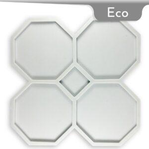 Coaster Octagonal Silicone Mold