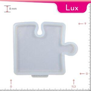Mold-it Lux Coaster Single Puzzle Silicone Mold