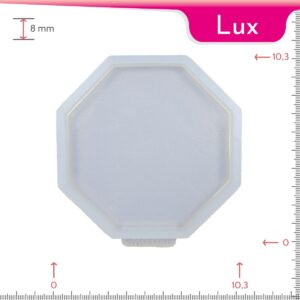 Mold-it Lux Coaster Single Octagonal Silicone Mold