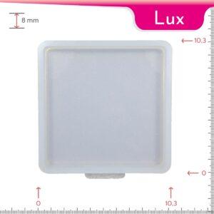 Mold-it Lux Coaster Single Square Silicone Mold