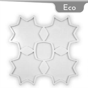 Coaster Star Silicone Mold