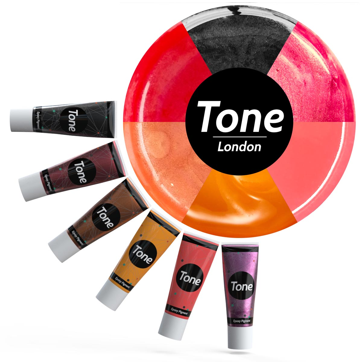 Tone London Epoxy Pigment Set