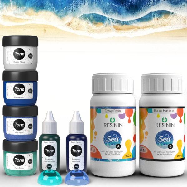 Ocean Art Epoxy Set